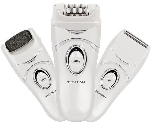 3-in-1 Electronic Epilator by TEC.BEAN - best epilator for face