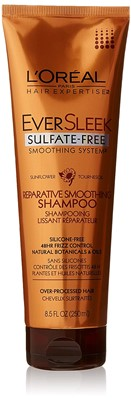 L'Oreal Paris EverSleek Sulfate-Free Shampoo - Best hair thickener
