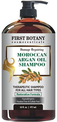 Moroccan Argan Oil Shampoo with Restorative Formula - best sulfate free volumizing shampoo