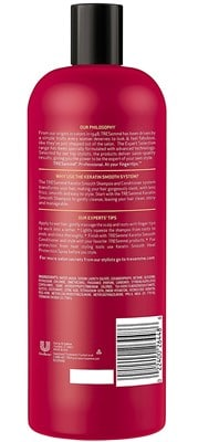 TREsemme Keratin Shampoo - best organic conditioner for fine hair