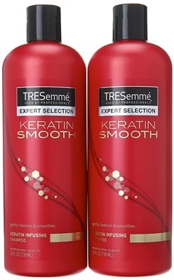 TREsemme Keratin Shampoo - best shampoo for fine brittle hair